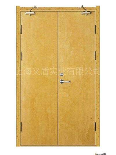 木质双开门(无玻璃)