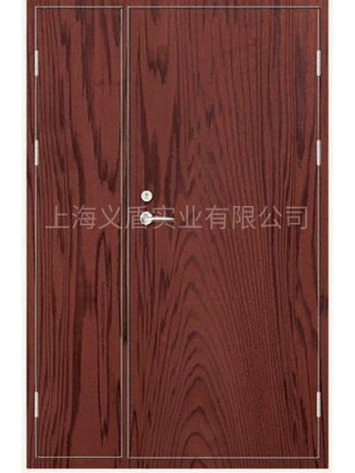 木质免漆对开门