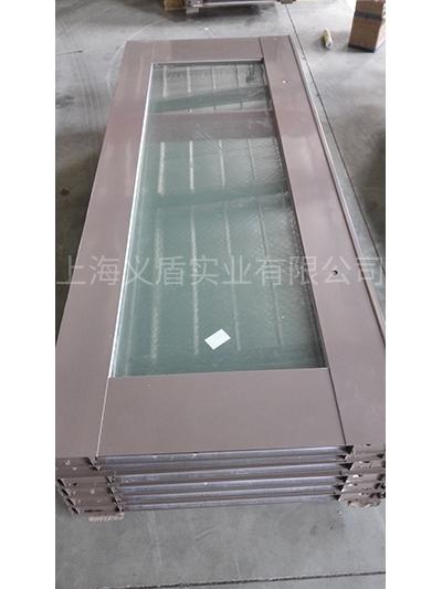 大玻璃防火门(钢质)