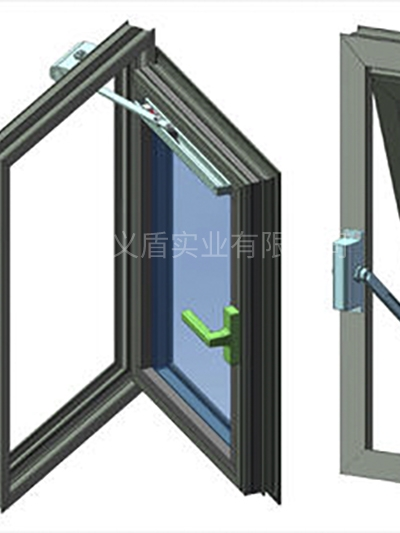 铝合金耐火窗