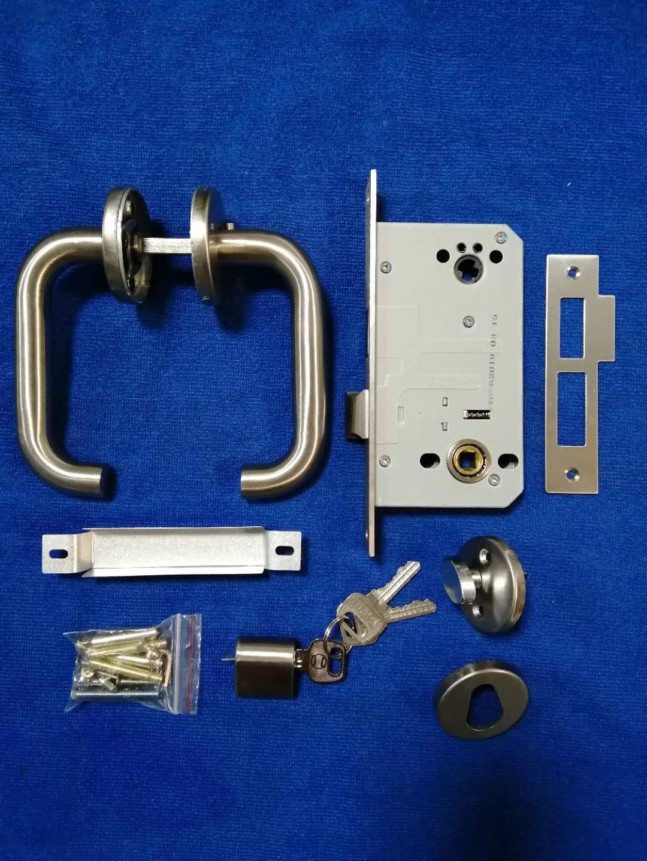 不锈钢执手型防火锁